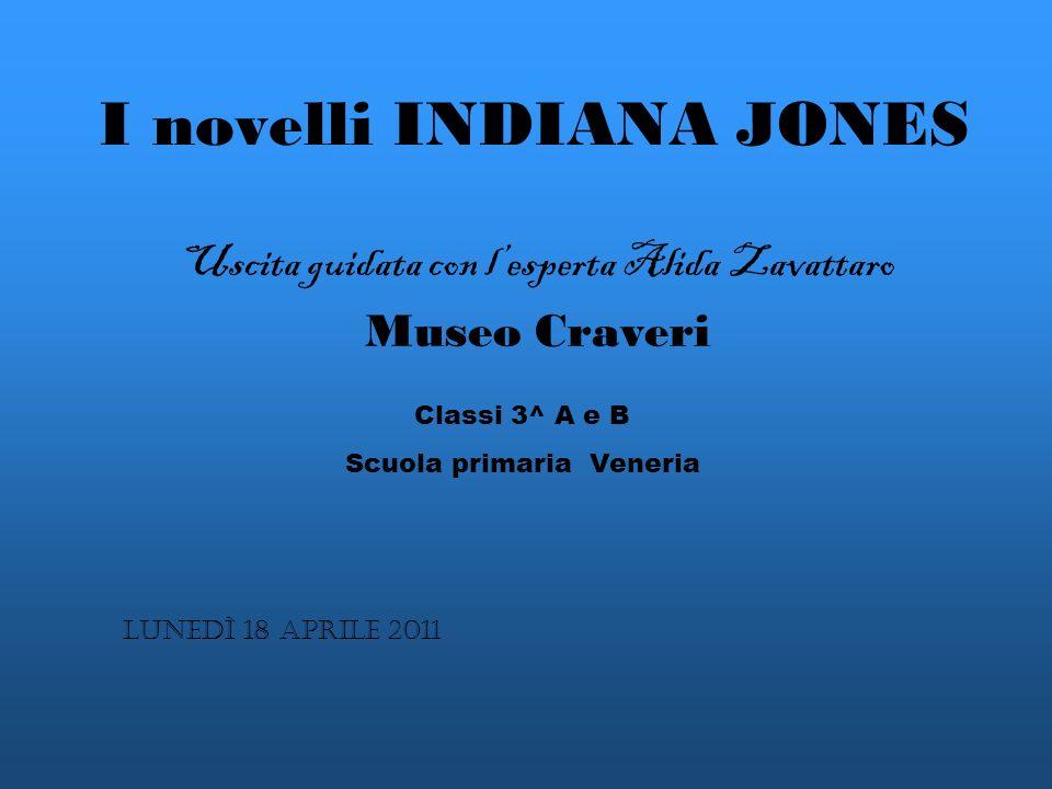 I novelli INDIANA JONES