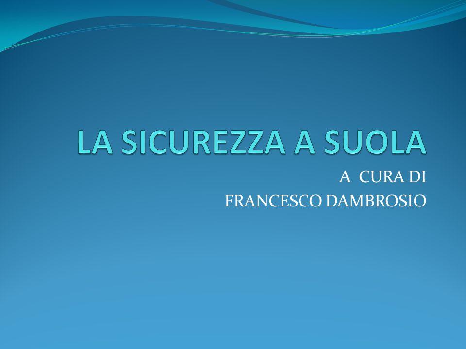 A CURA DI FRANCESCO DAMBROSIO