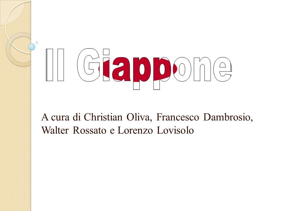 Il Giappone A cura di Christian Oliva, Francesco Dambrosio, Walter Rossato e Lorenzo Lovisolo