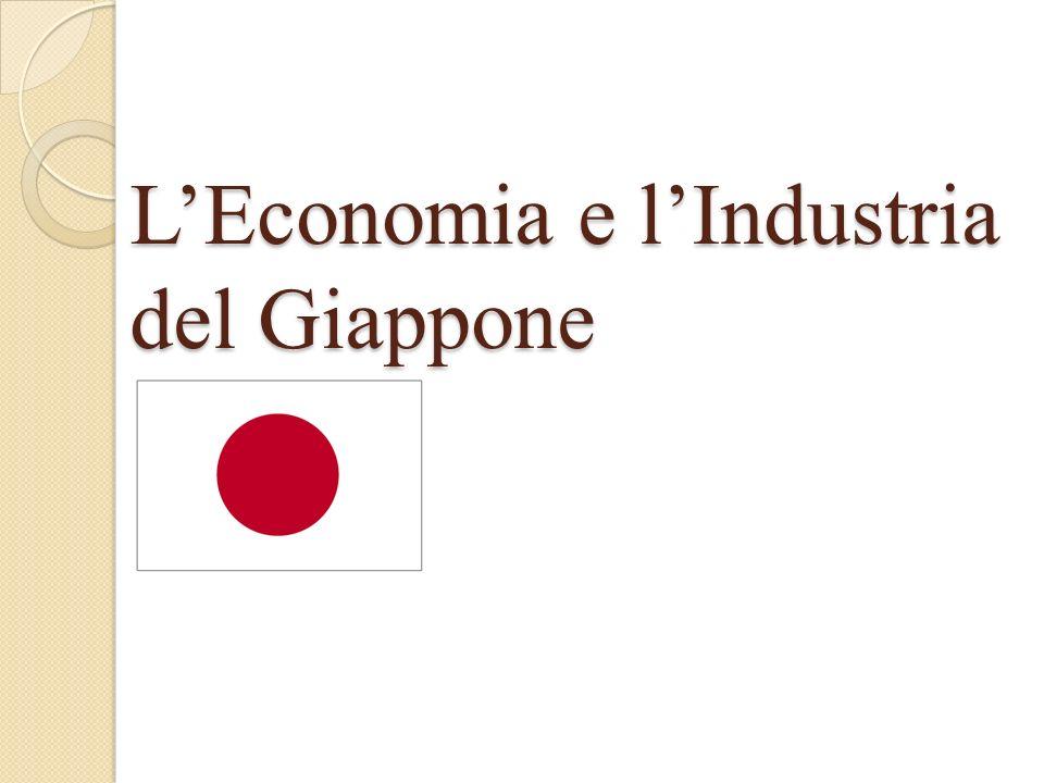 L'Economia e l'Industria del Giappone