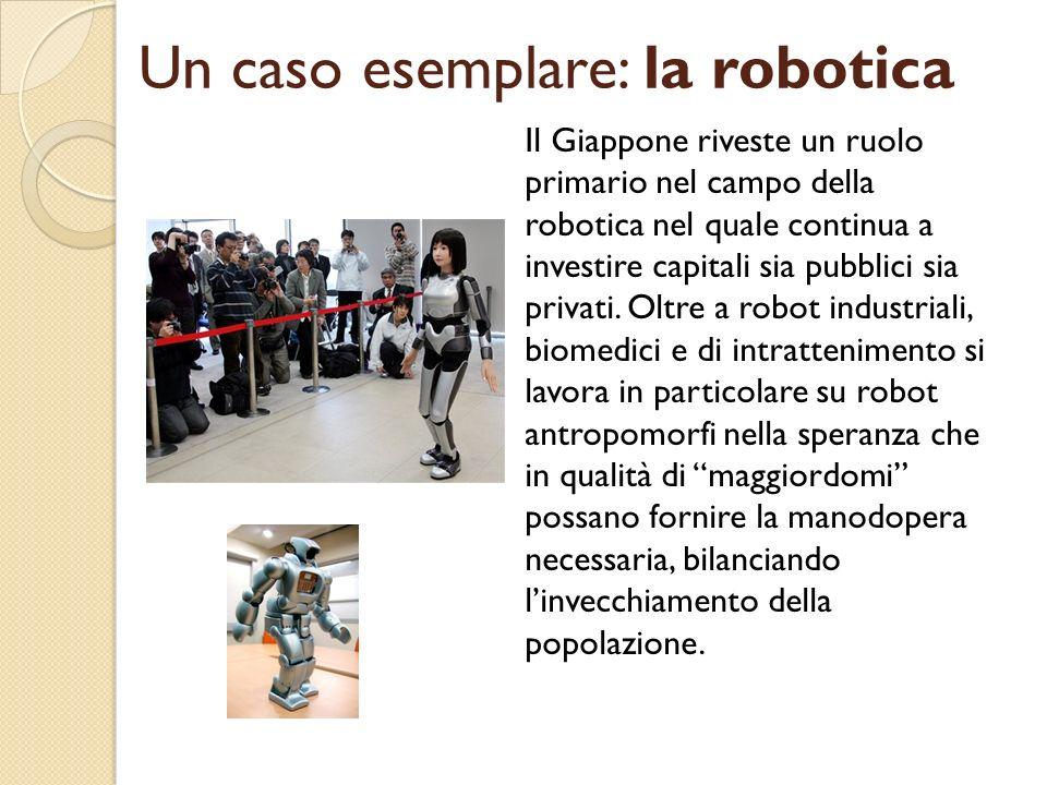 Un caso esemplare: la robotica
