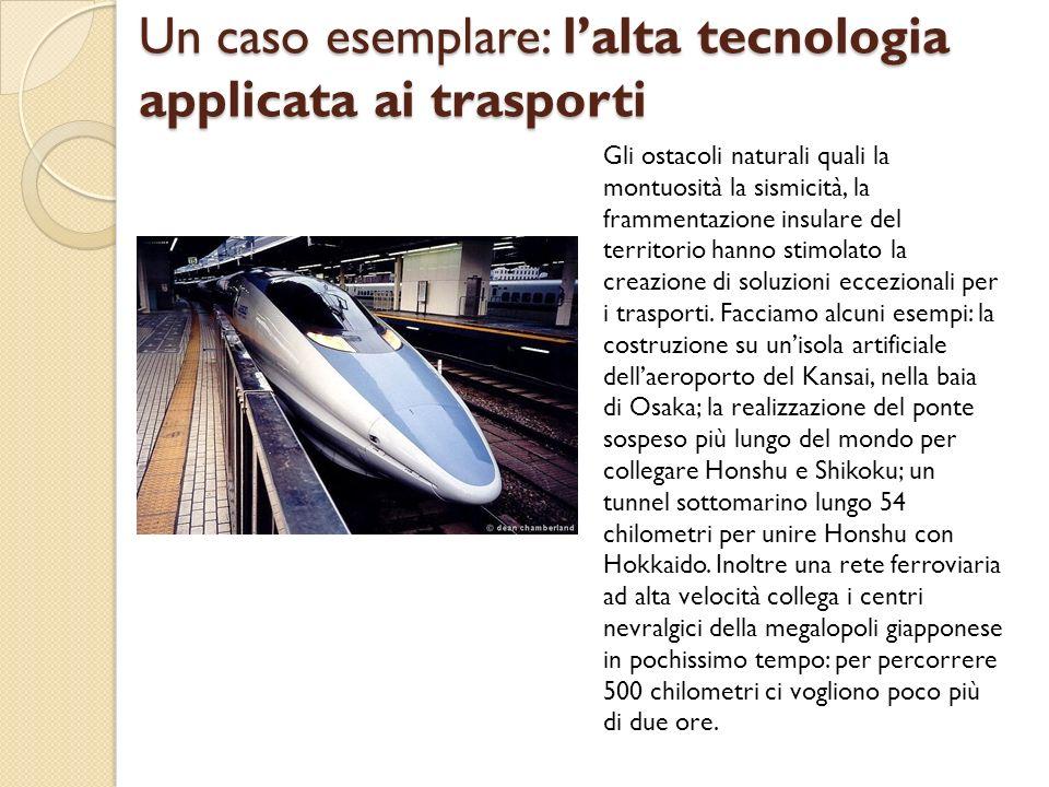 Un caso esemplare: l'alta tecnologia applicata ai trasporti