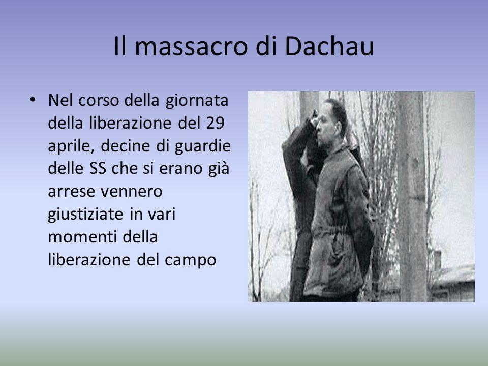 Il massacro di Dachau