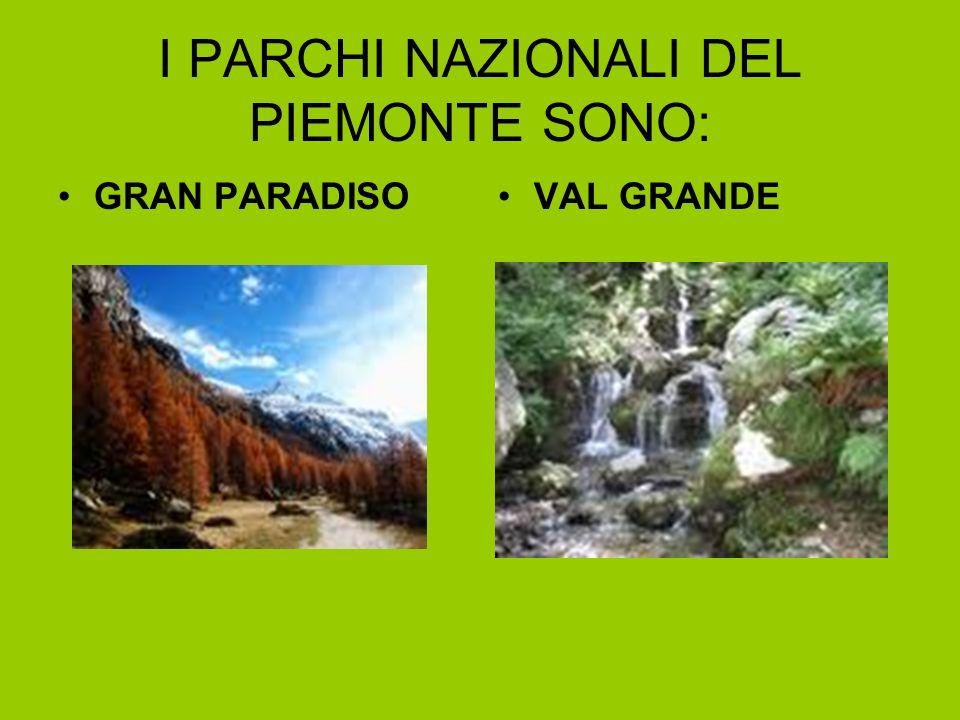 I PARCHI NAZIONALI DEL PIEMONTE SONO:
