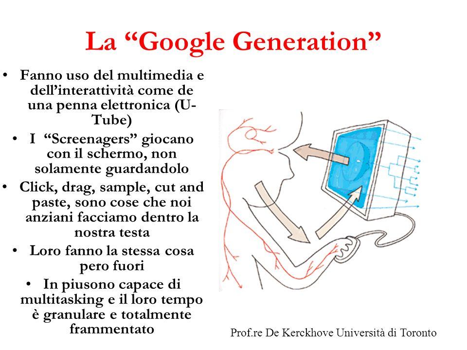 La Google Generation
