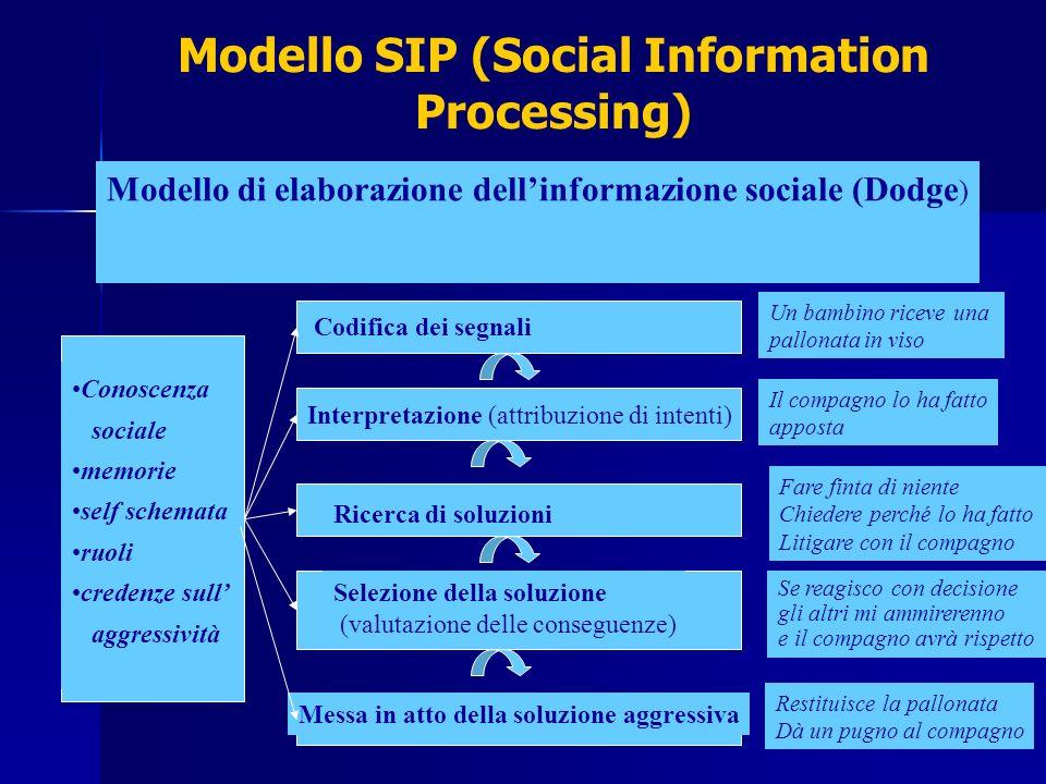 Modello SIP (Social Information Processing)