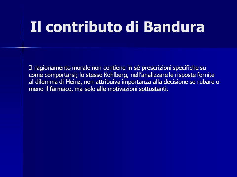Il contributo di Bandura