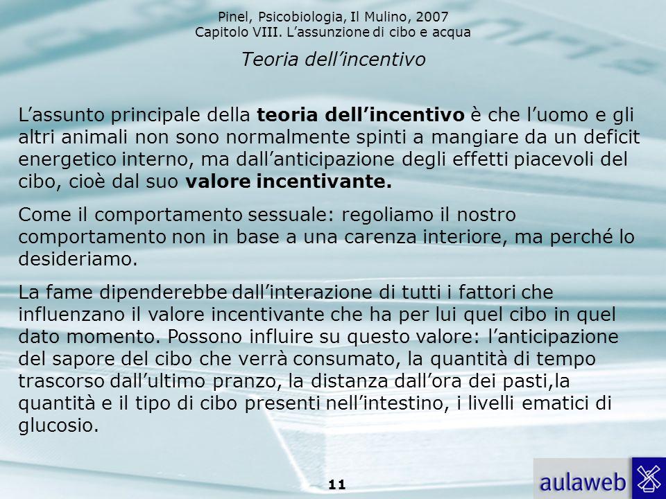 Teoria dell'incentivo