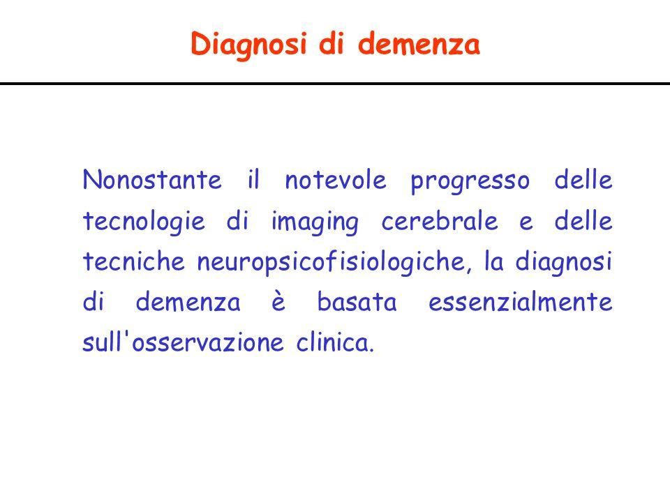 Diagnosi di demenza