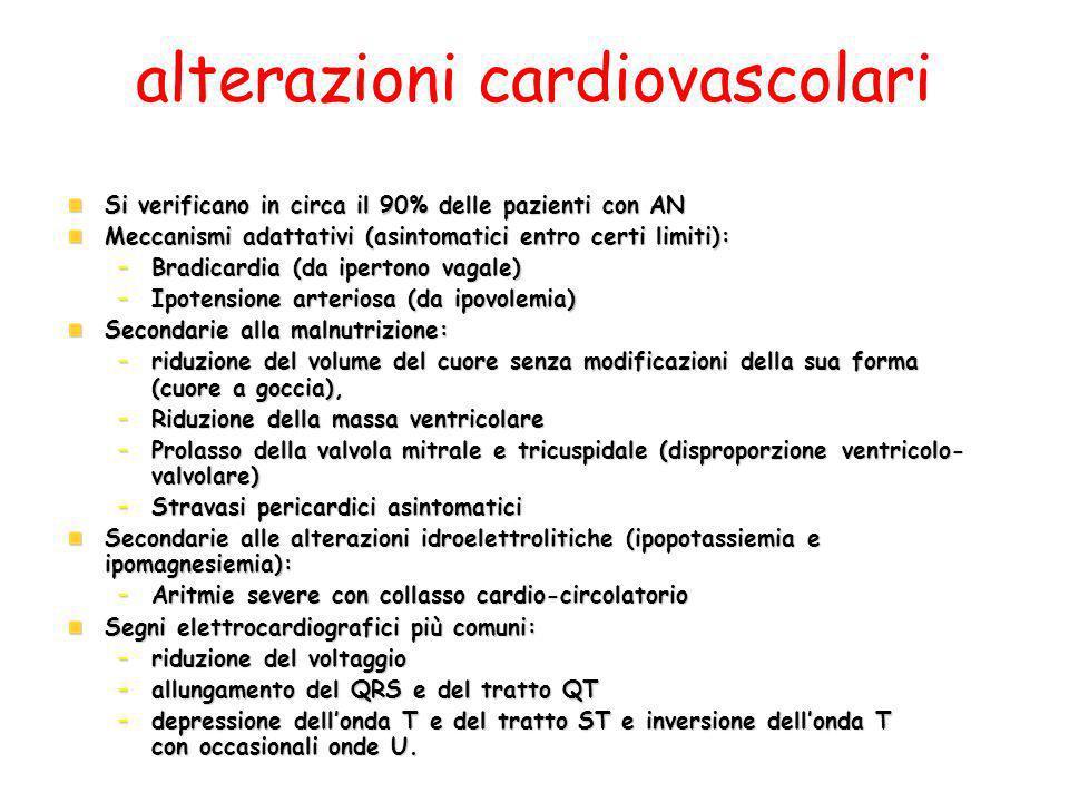 alterazioni cardiovascolari
