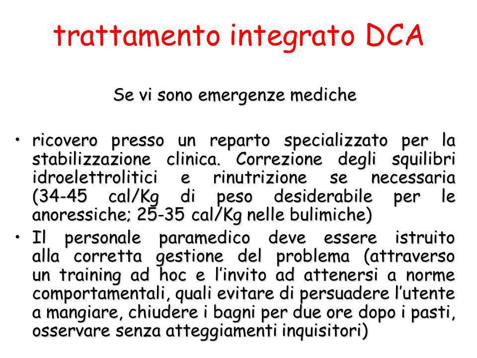 trattamento integrato DCA
