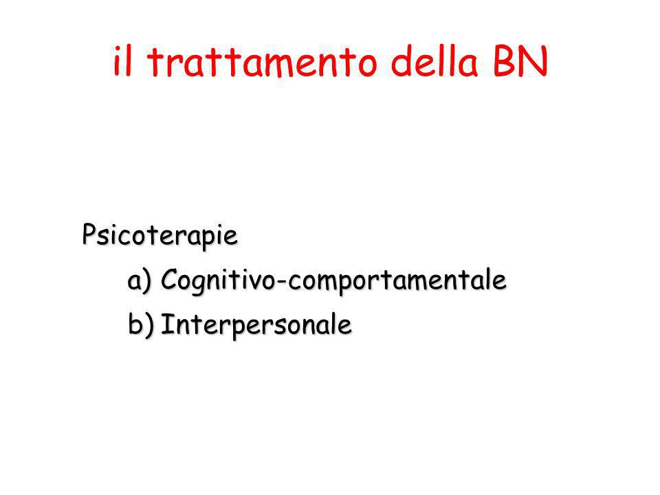 il trattamento della BN