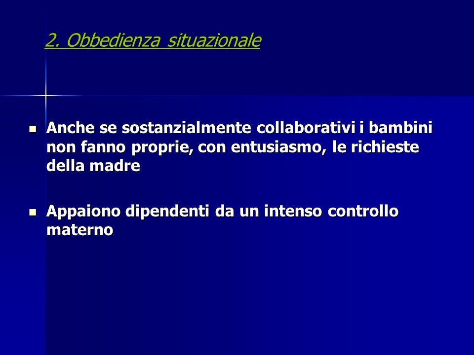 2. Obbedienza situazionale