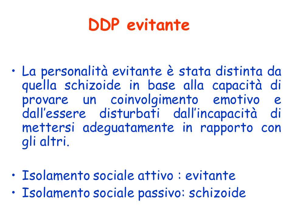 DDP evitante