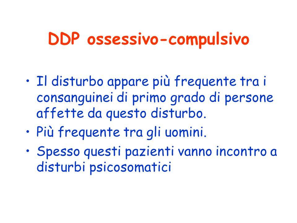 DDP ossessivo-compulsivo
