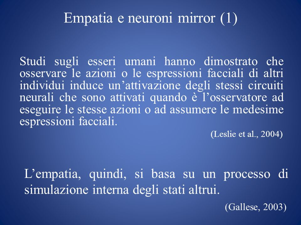Empatia e neuroni mirror (1)