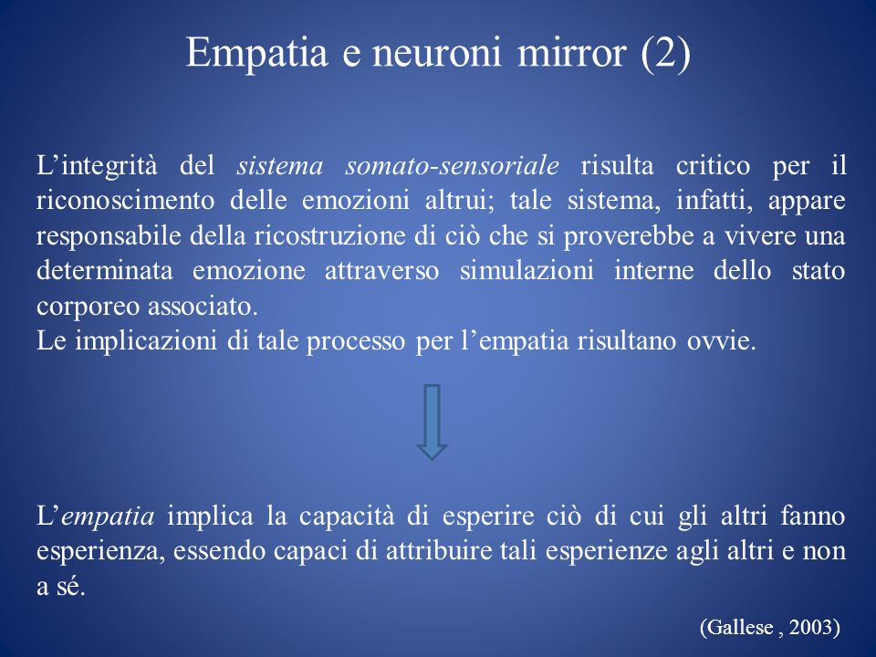 Empatia e neuroni mirror (2)