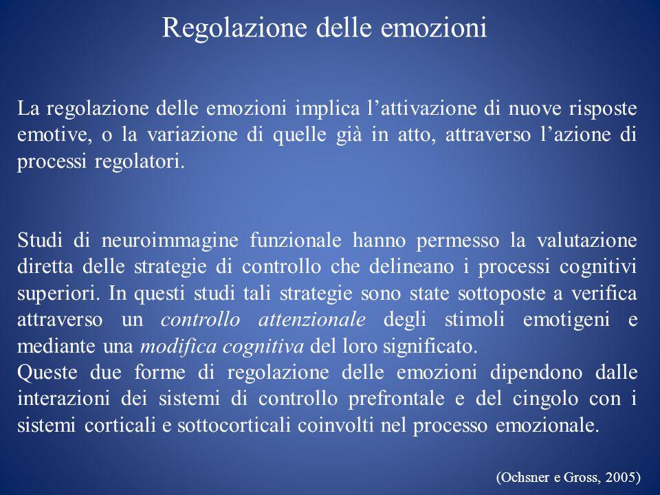 Regolazione delle emozioni