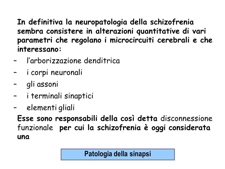 Patologia della sinapsi
