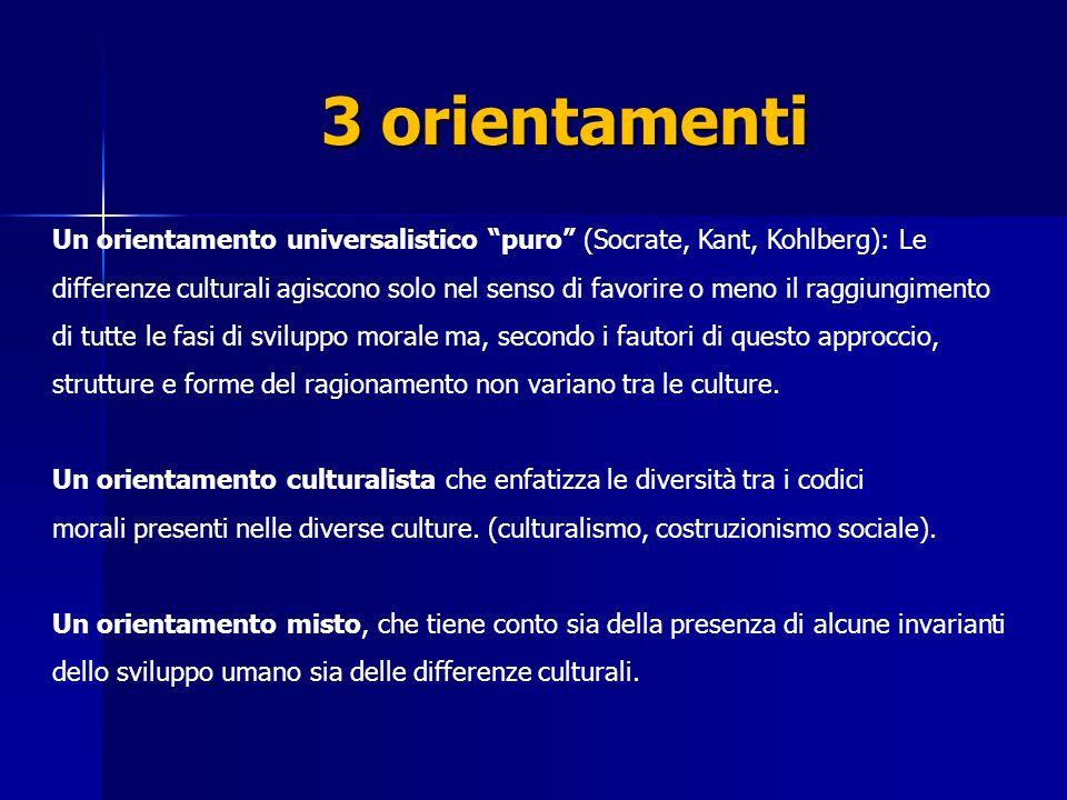 3 orientamenti