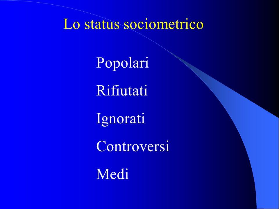 Lo status sociometrico