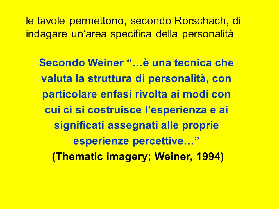 (Thematic imagery; Weiner, 1994)