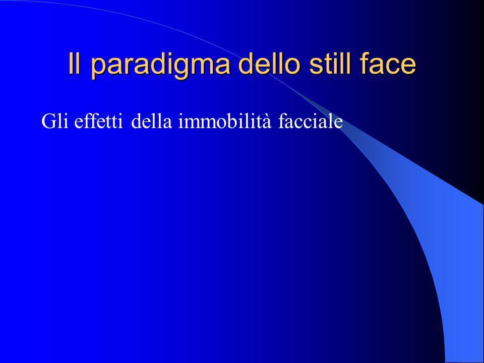 Il paradigma dello still face