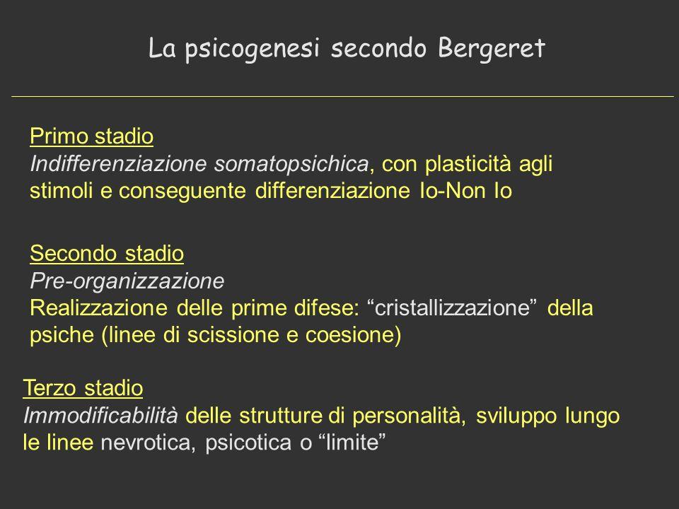 La psicogenesi secondo Bergeret