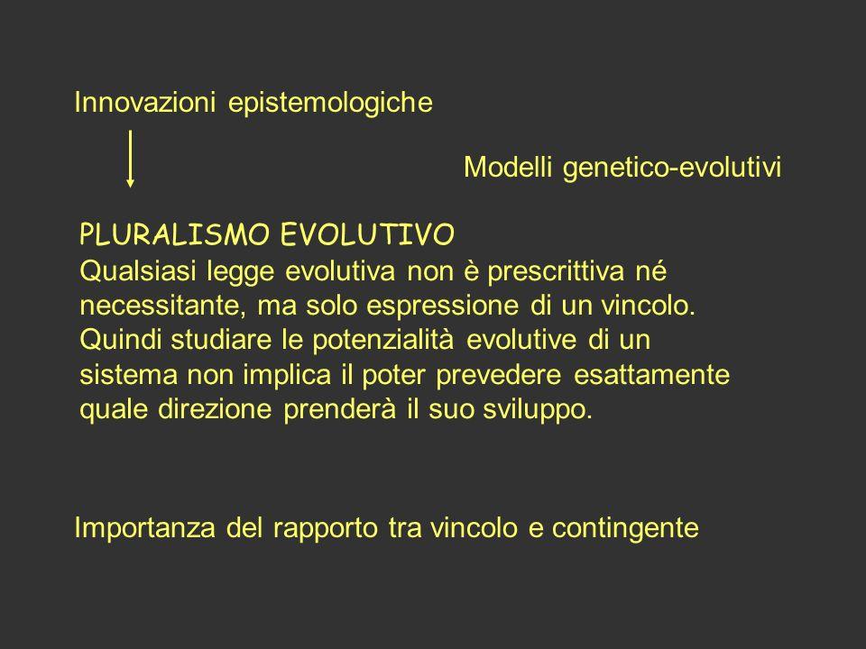 Innovazioni epistemologiche