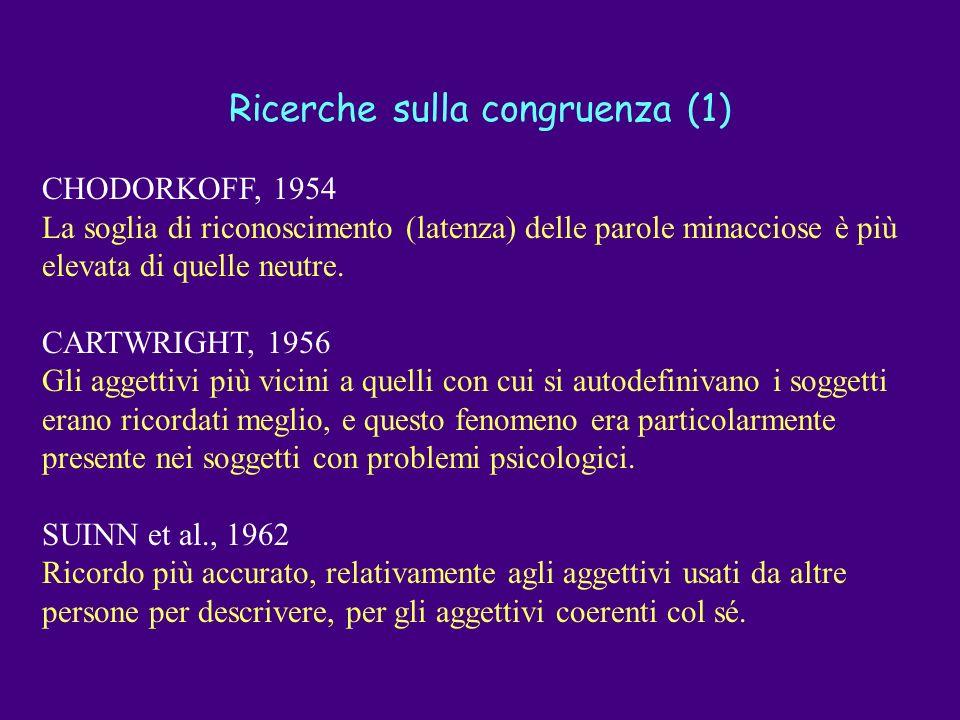 Ricerche sulla congruenza (1)