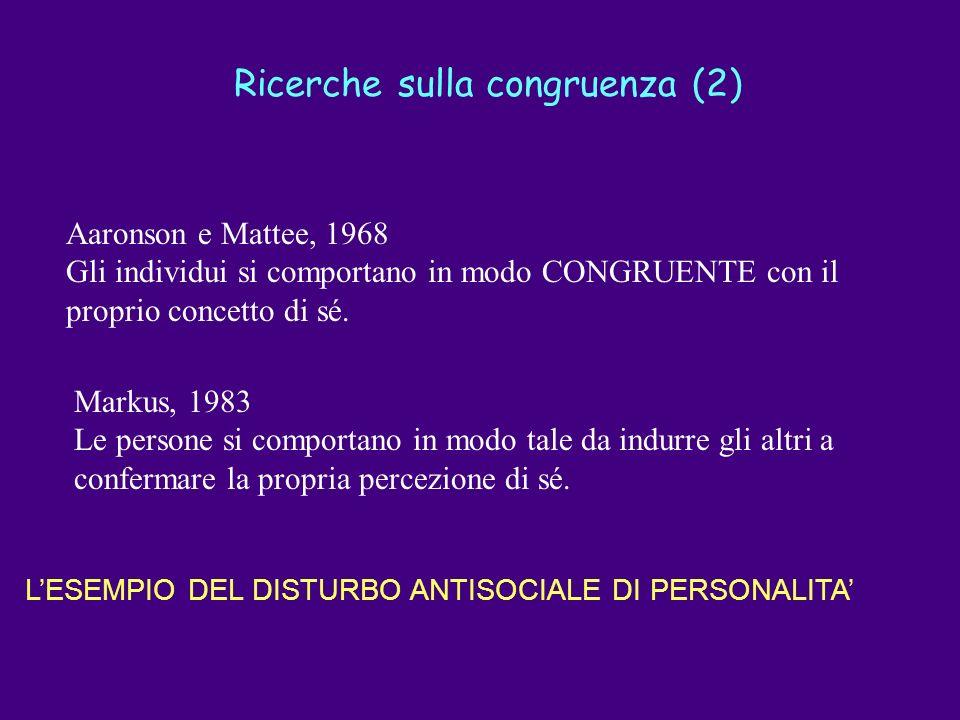 Ricerche sulla congruenza (2)