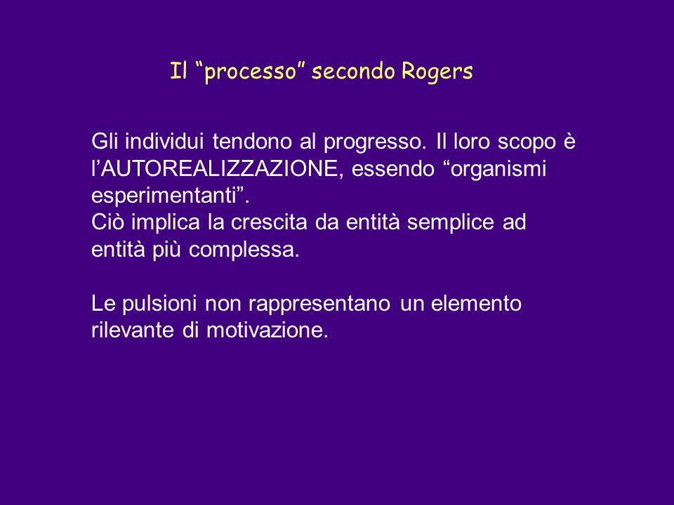 Il processo secondo Rogers