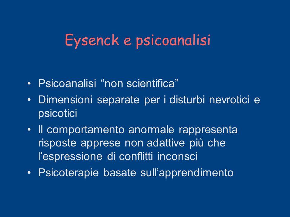 Eysenck e psicoanalisi