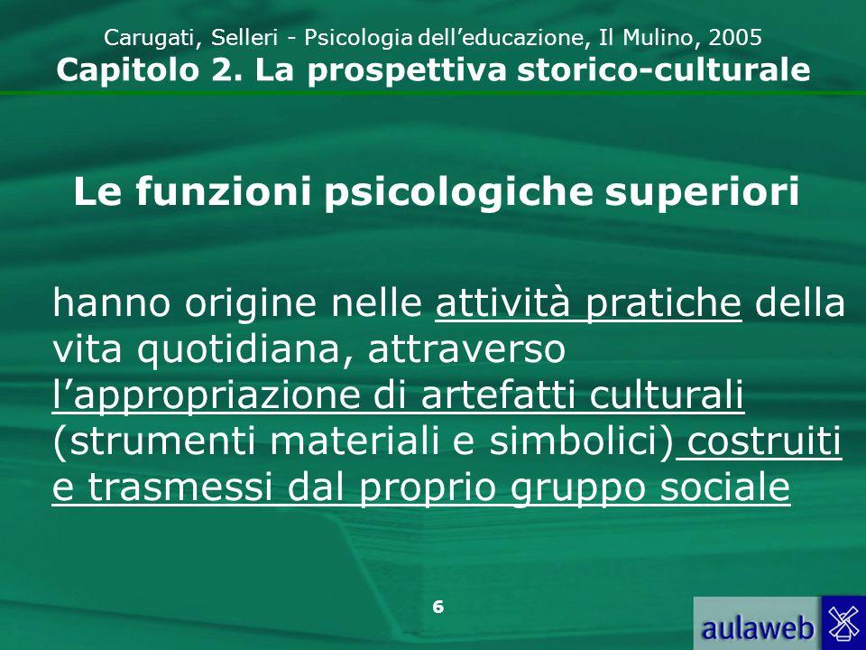 Le funzioni psicologiche superiori
