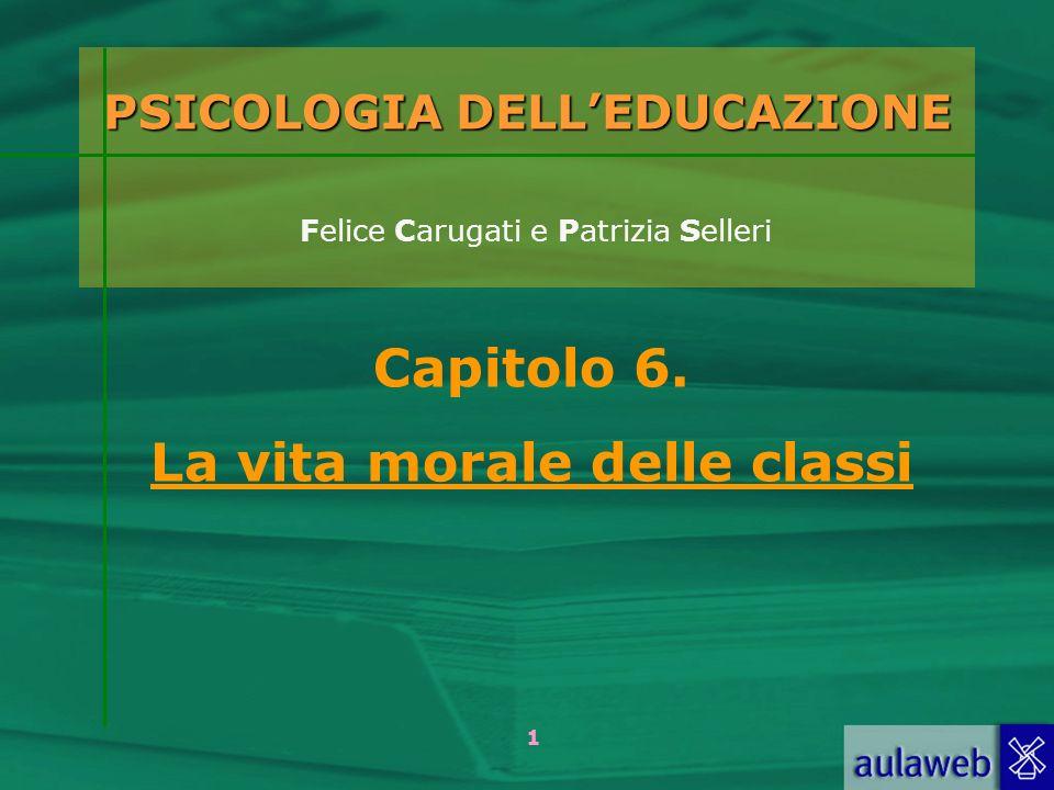 PSICOLOGIA DELL'EDUCAZIONE Felice Carugati e Patrizia Selleri
