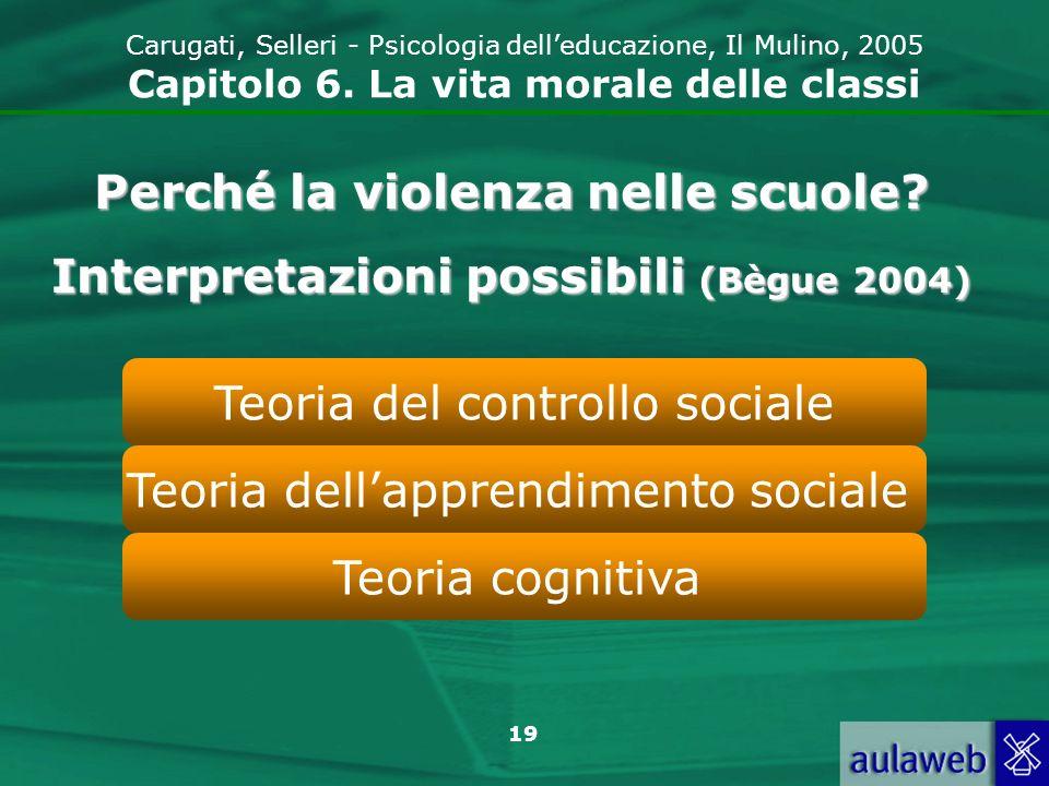Perché la violenza nelle scuole