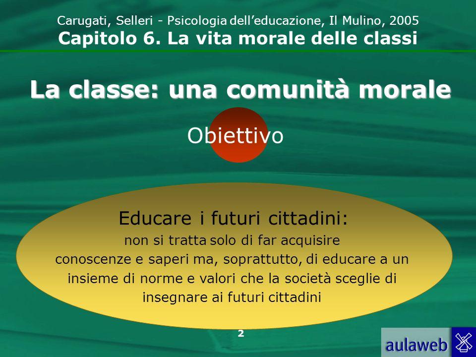 La classe: una comunità morale