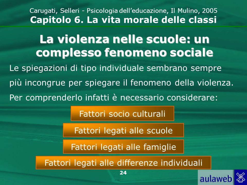 La violenza nelle scuole: un complesso fenomeno sociale
