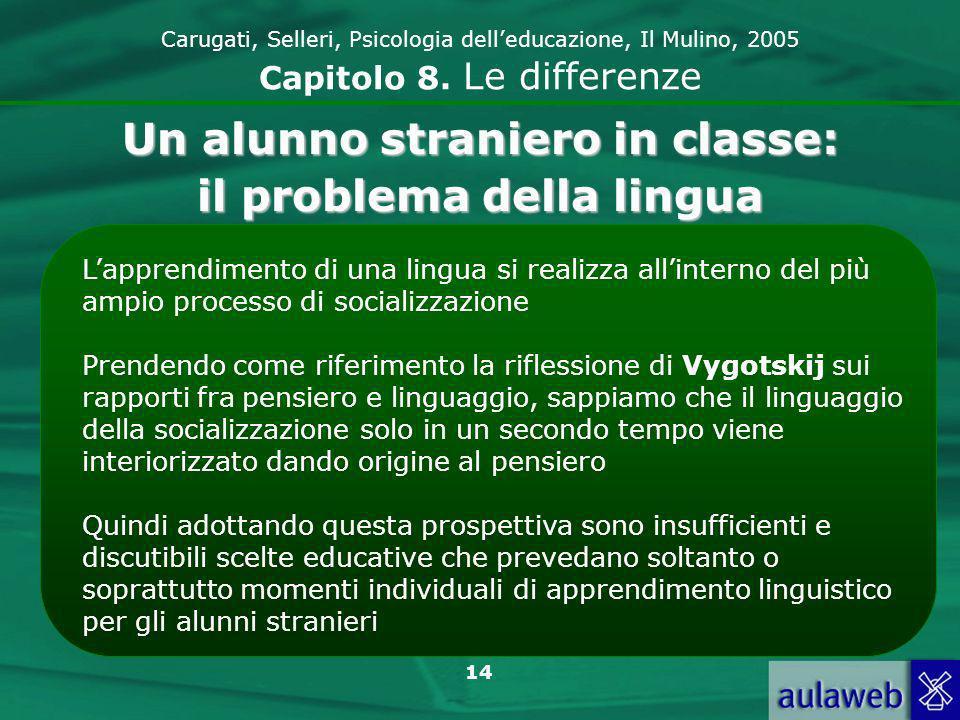 Un alunno straniero in classe: il problema della lingua