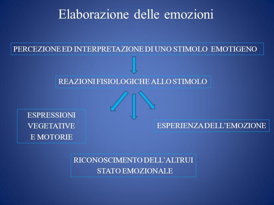 Elaborazione delle emozioni