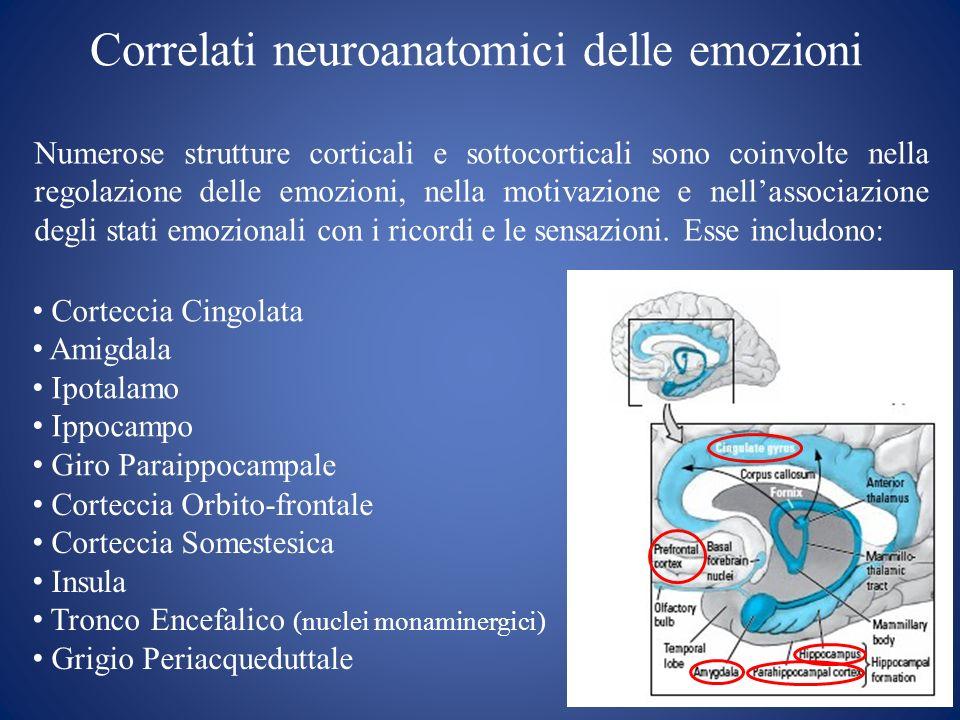 Correlati neuroanatomici delle emozioni