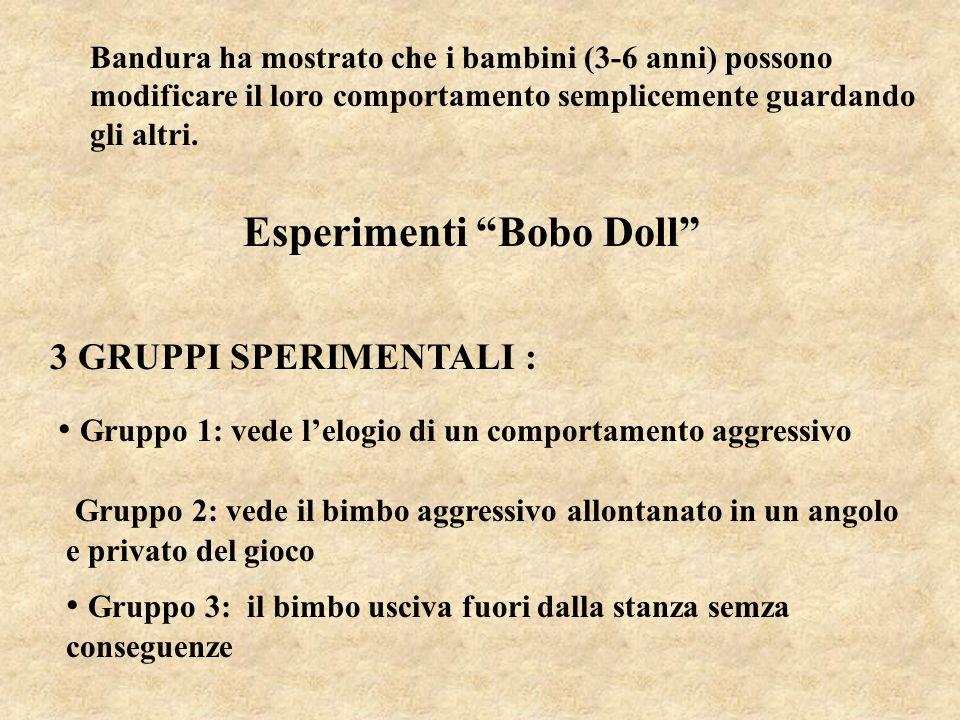 Esperimenti Bobo Doll