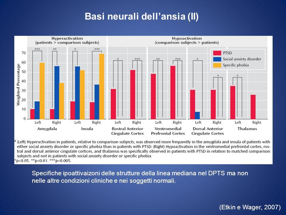 Basi neurali dell'ansia (II)