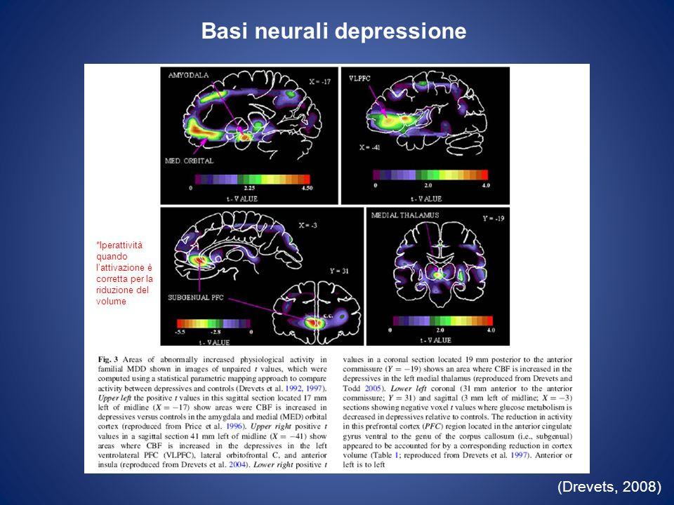 Basi neurali depressione