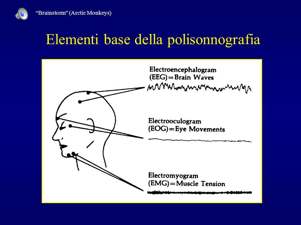 Elementi base della polisonnografia