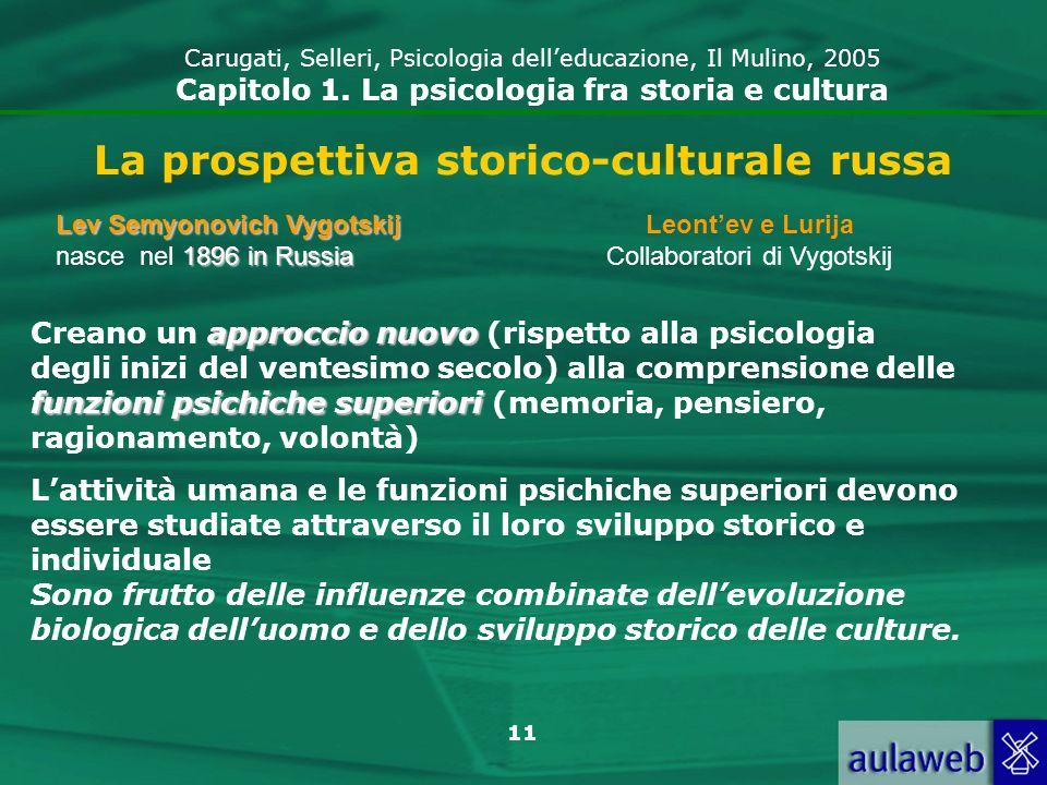 La prospettiva storico-culturale russa
