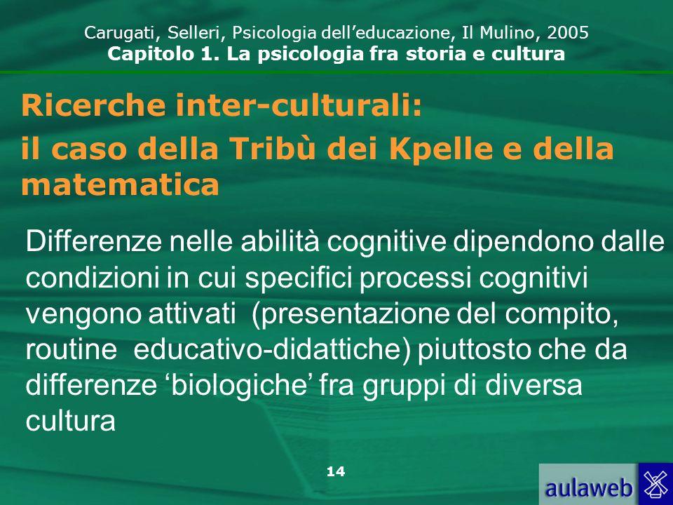 Ricerche inter-culturali: