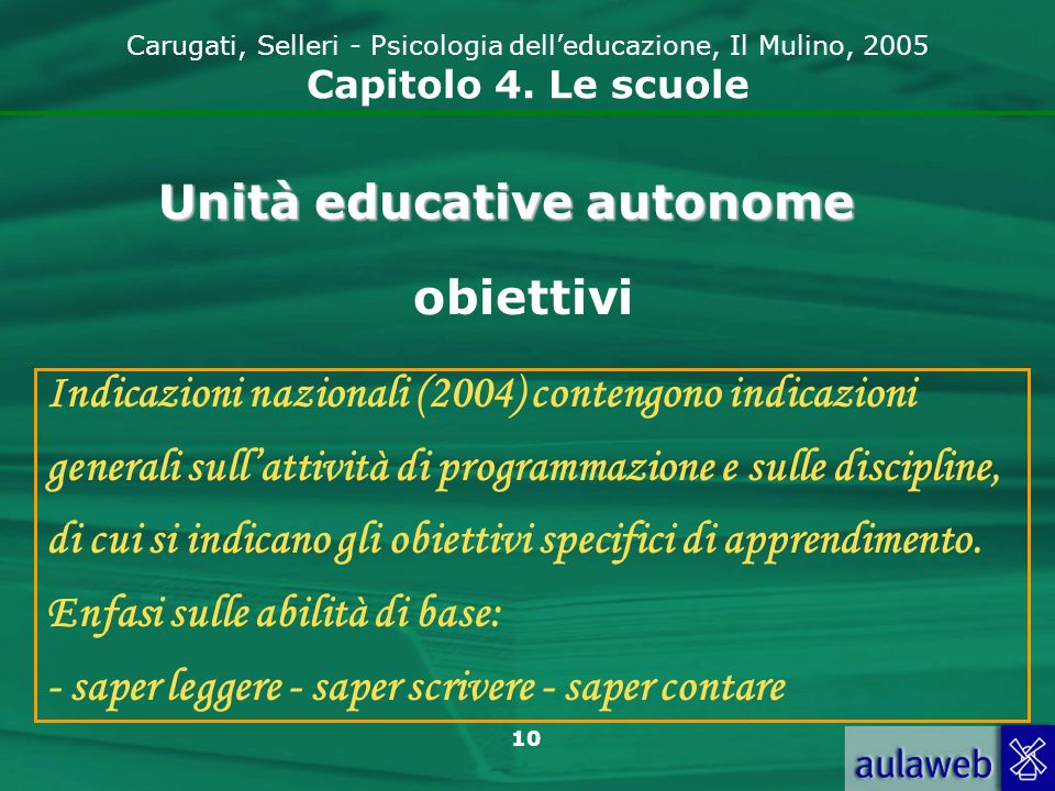 Unità educative autonome