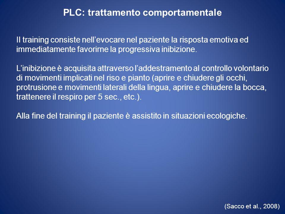 PLC: trattamento comportamentale