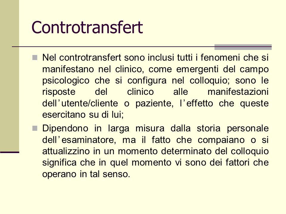 Controtransfert